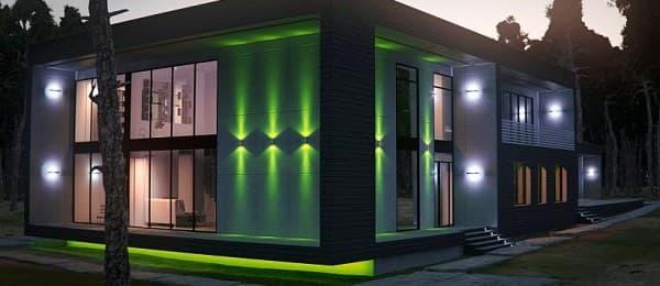 Выбор оборудования для архитектурной подсветки