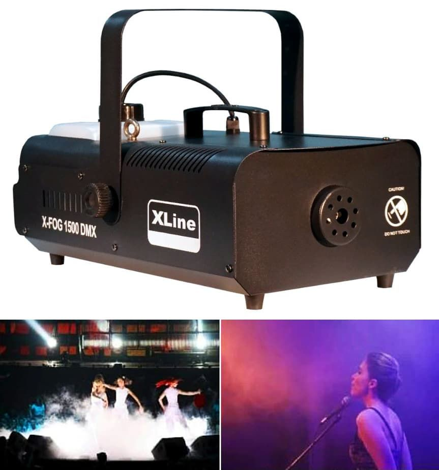 Генератор дыма XLine Light X-FOG 1500 DMX