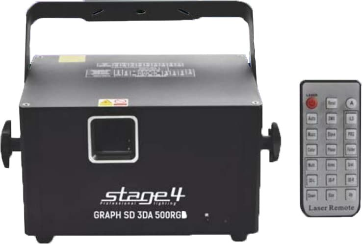 Лазерный проектор STAGE4 GRAPH SD 3DA 500RGB