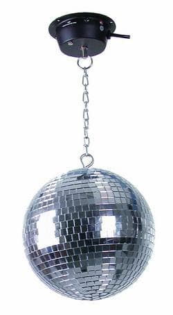 Зеркальный шар EUROLITE Mirror Ball MD 1015 с приводом и цепью