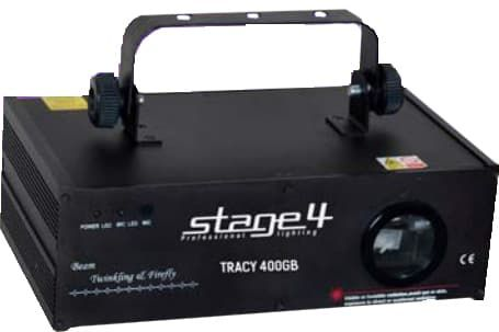 Лазерная установка для дискотек STAGE 4  TRACY 400GB